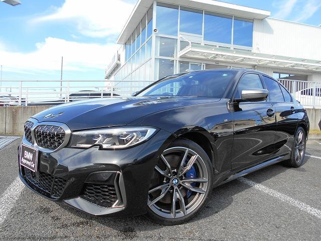 BMW 3シリーズ M340i xDrive 19AWコニャック革パーキングアシスト+ハーマンカードンHi-Fi社外地デジチューナーDVDプレーヤー禁煙1オーナー認定中古車