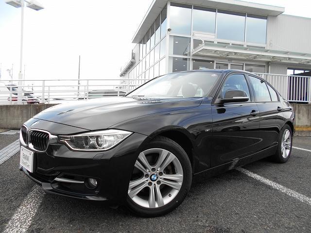 BMW 320i スポーツ 17AW純正HDDナビMSVバックカメラキセノンET禁煙1オーナー認定中古車