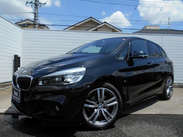 BMW 218iアクティブツアラー Mスポーツ 18AWコンフォートPパーキングサポートPオートトランクETCコンフォートアクセス禁煙認定中古車