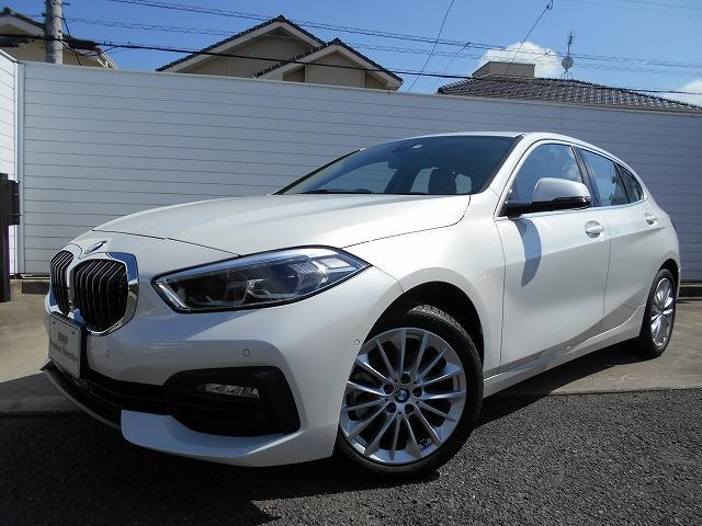BMW 118d プレイ エディションジョイ+ ハイラインP 17AWハイラインPKG黒革コンフォートPKGパノラマガラスサンルーフACCデモカー認定中古車