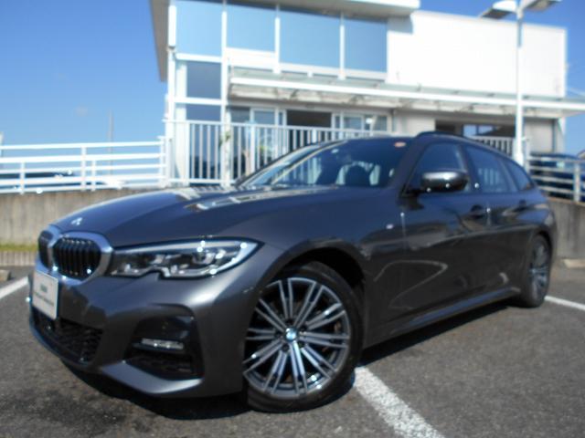 BMW 318iツーリング Mスポーツ 18AWコンフォートPKGパーキングアシスト+ACC禁煙認定中古車