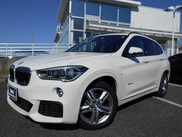 BMW X1 xDrive 18d Mスポーツ 18AWハイラインP黒革コンフォートPKG禁煙1オーナー認定中古車