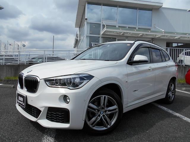 BMW X1 xDrive 18d Mスポーツ 18AWハイラインPKG黒革ドラレコ禁煙1オーナー認定中古車