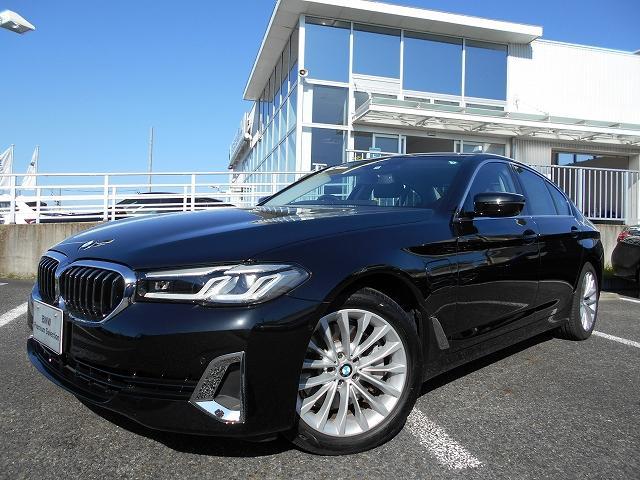 BMW 530e ラグジュアリー エディションジョイ+ 18AWエクスクルーシブナッパモカレザーPKGデモカー認定中古車