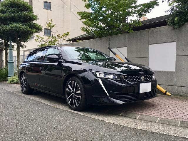 プジョー SW GT ブルーHDi 純正ナビETC メーカー保証継承