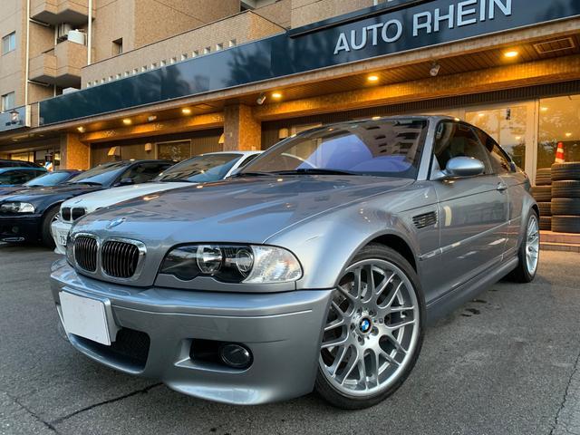 BMW M3クーペ 左H 6MT SRレス 1オーナー