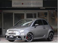 アバルト アバルト595コンペティツィオーネ 1オナ 新車保証継承 ブラウンシート