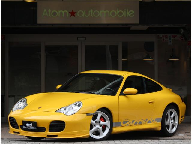 ポルシェ 911カレラ4S ディーラー車 D記録簿9枚 6速MT