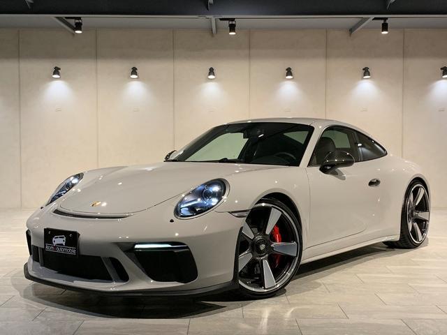 ポルシェ 911GT3 黒革インテ Fリフト アダプティブSSプラス