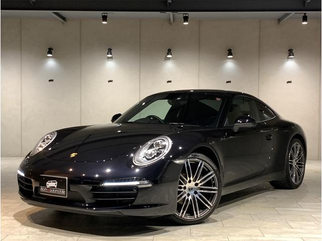 ポルシェ 911 911カレラブラックエディション 1オーナー 911ターボ20インチAW ポルシェエントリードライブ 車検整備付