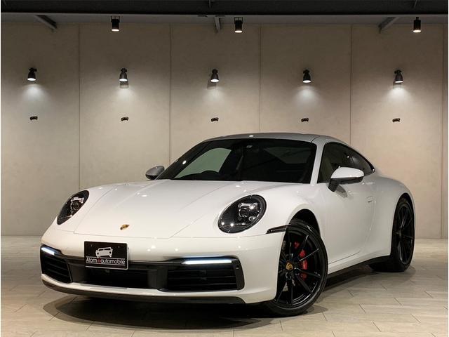 ポルシェ 911カレラ4S 1オナ スポーツクロノ スポーツエグゾースト 2トーンインテリア