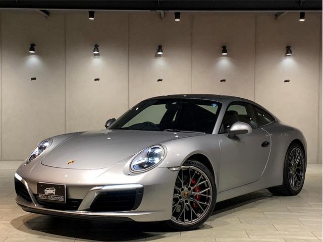 ポルシェ 911 911カレラS 1オーナー スポーツクロノパッケージ スポーツエグゾースト RSスパイダーデザイン20インチAW