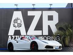 フェラーリ 488スパイダーD車 鍛造AW FIエキゾースト可変マフラー カーボンPKG