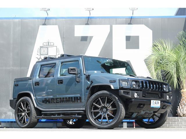 ハマー ハマーH2 新車並行 スーパーチャージャー 26インチ新品 社外マフラー