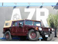 ハマー H1新並 CTISホイール 4WD グリルガード 社外スピーカー
