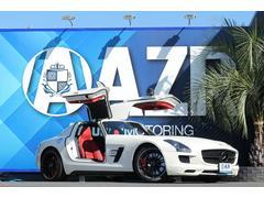 M・ベンツ SLS AMG正規ディーラー車 カーボンミラー レッド内装