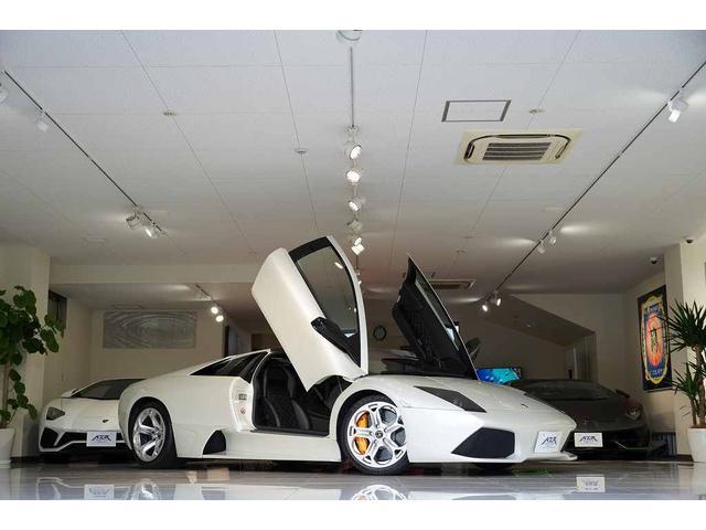 ランボルギーニ LP640 正規D車 2007yモデル ガラスEGフード カーボンエンジンベイ カーボンインテリア LBパフォーマンス SKY鍛造AW OPボディカラー Q-cituraステッチ 社外マフラー クラッチ残70%