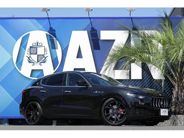 マセラティ レヴァンテ  正規ディーラー車 ベースグレード ドライバーアシタンスPKG プレミアムPKG アルカンターラルーフアイニング オープンボア・ウッド・トリム SKY FORGEDホイール レッドキャリパー