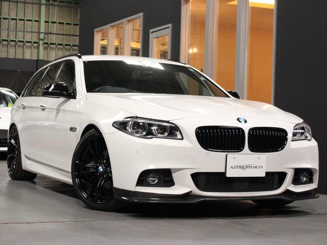 BMW 523iツーリングMスポーツ LEDヘッド ACC 20AW