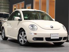 VW ニュービートルLZ 最終2010年モデル ベージュ革 HDDナビBカメラ