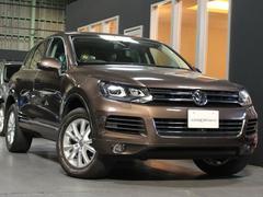 VW トゥアレグV6 買取 パノラマSR ブラウン革 社外20AW(純正有)
