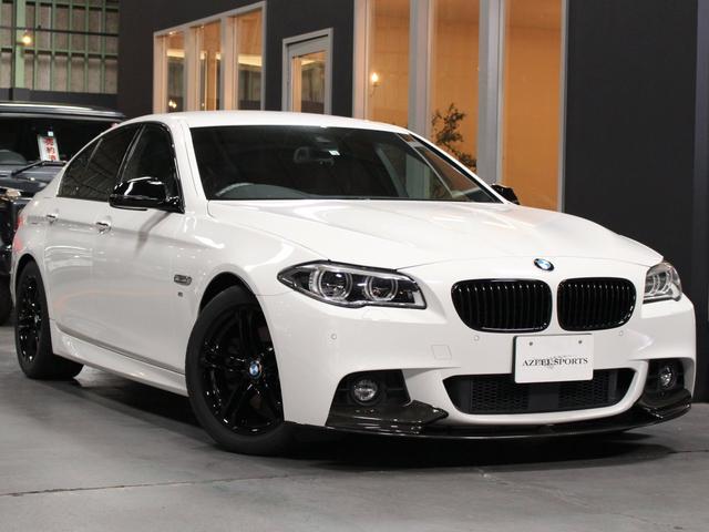 BMW 523d Mスポーツ 1オナ 後期LEDヘッド ACC 茶革