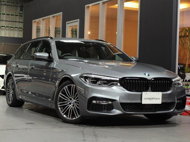 BMW 523iツーリング Mスポーツ ハイライン 黒革 保証 禁煙