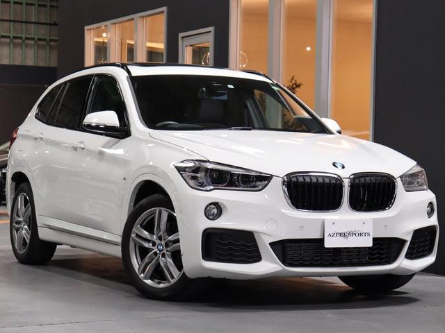 BMW xDrive 18d Mスポーツ 1オナ セレクトPKG パノラマSR付 最終モデル HUディスプレイ 電動ゲート シートH LEDヘッド 前後Pセンサー 純正タッチナビ/BT/Bカメラ ACC/インテリセーフ 4WD 新車保証 禁煙