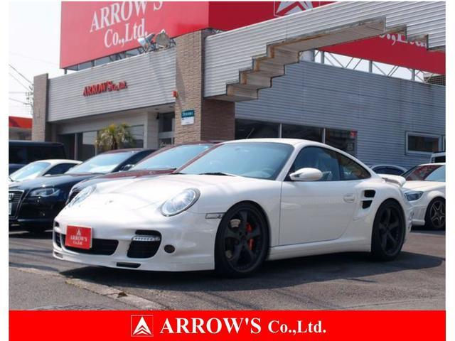 ポルシェ 911ターボ スポーツクロノPKG テックアート20インチ