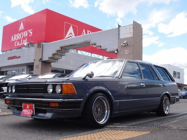 日産 DX ベンチシート  原動機VG30・V6・3L・ターボ公認 マーシャルヘッドライト SSR16incAW ワンオフフロント・リア6cmブロックローダウン 社外ハンドル 社外マフラー 社外セキュリティ