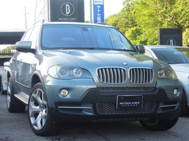 BMW 4.8i 茶レザー 20AW 9インチnavi 記録簿10枚