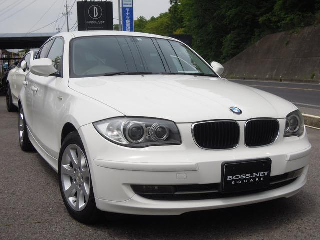 BMW 116i 記録簿4枚 車検残R3/1 キセノン 社外16AW