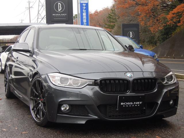 BMW 320i Mスポ 1オナ レイズ19AW アーキュレーマフラ