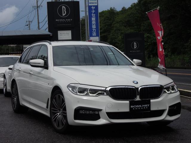 BMW 540ixDriveMスポ 1オーナ デビューP 新車保証付