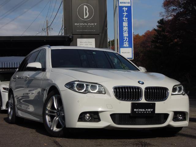 BMW 523dツーリング Mスポーツ ハイラインPKG/パノラマサンルーフ/ブラウンダコタレザー・ウッドパネル/レーンチェンジ/インテリジェントセーフテイ/レーンディパーチャー/ヘッドアップD/LEDヘッド/ハーマンサウンド/全席ヒータ
