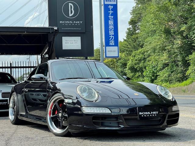 ポルシェ 911 911カレラ ・ディーラー車・PASM・黒革シート&シートヒーター・HDDナビ&地デジ&Bカメラ・社外19インチAW・社外LEDテール・ウインカー