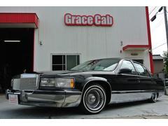 キャデラック フリートウッドブロアム 8ナンバー放送宣伝車 トリプルブラック 最終モデル