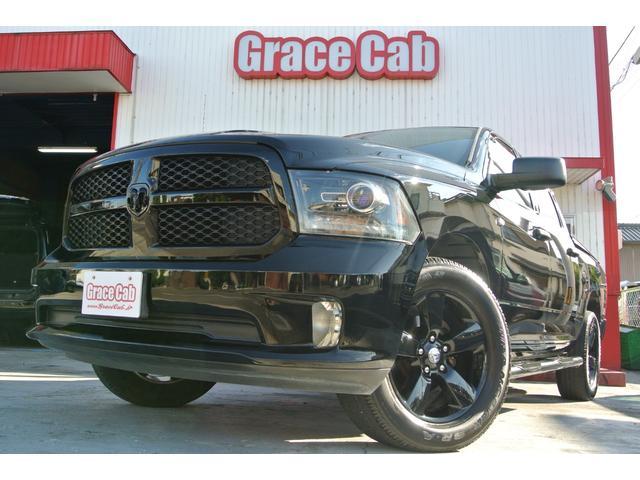 ダッジ  ブラックパッケージ 1ナンバー 4WD  新車並行 6ヶ月保証付き