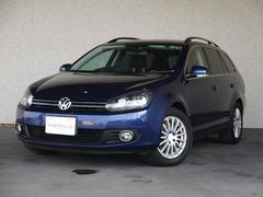 VW ゴルフヴァリアントTSI コンフォートライン 社外HDDナビフルセグ