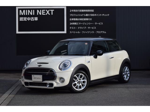 MINI クーパーS 3ドア ドライビングアシスト・LEDライト・純正ナビ