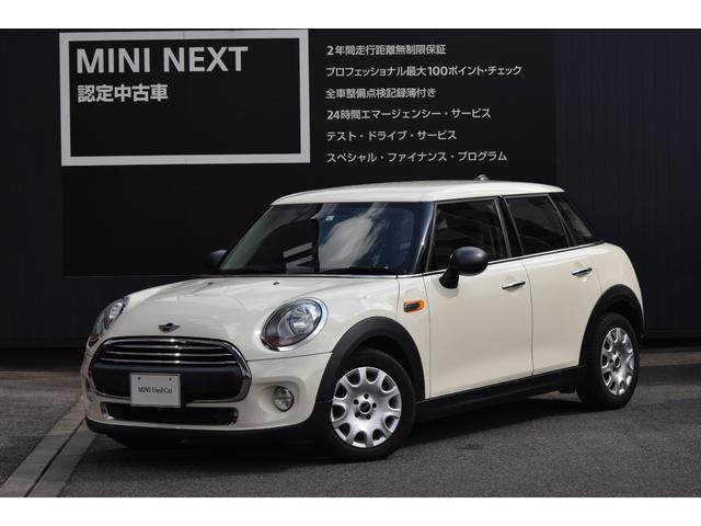 MINI ワン 5ドア 純正ナビ ライトパッケージ  正規認定中古車