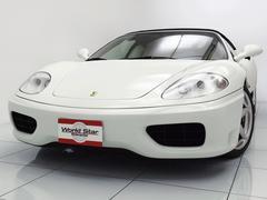 フェラーリ 360F1スパイダー ブラッククオイオツートンレザーインテリア