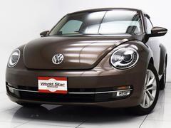 VW ザ・ビートルデザインレザーパッケージ ベージュレザーシート Sヒーター