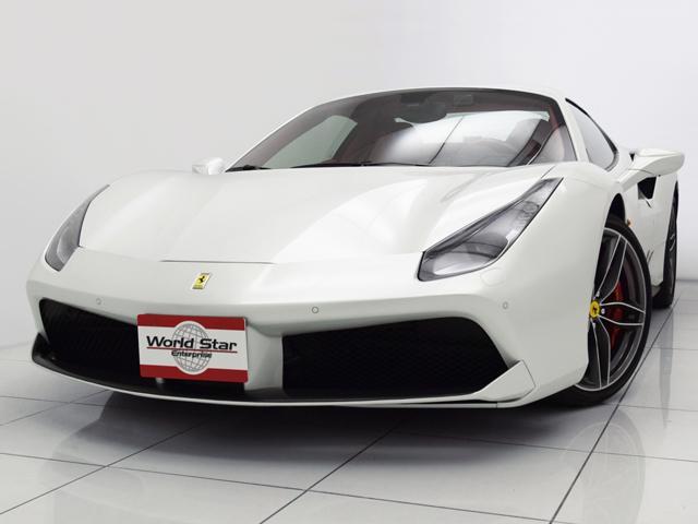 フェラーリ カーボンドライバーズゾーン LEDステアリング
