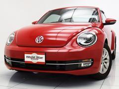 VW ザ・ビートルデザインレザーパッケージ 黒革シート シートヒーター