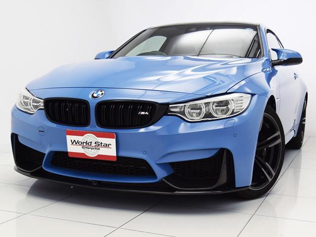 BMW M4クーペ 19インチ鍛造AW カーボンインテリアトリム
