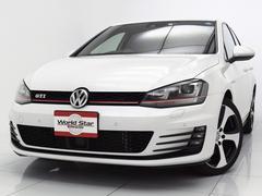 VW ゴルフGTIベースグレード DCCPKG ディスカバリープロナビ 禁煙車