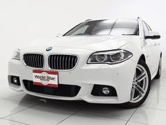 BMW523dツーリング Mスポーツ 黒革スポーツシート