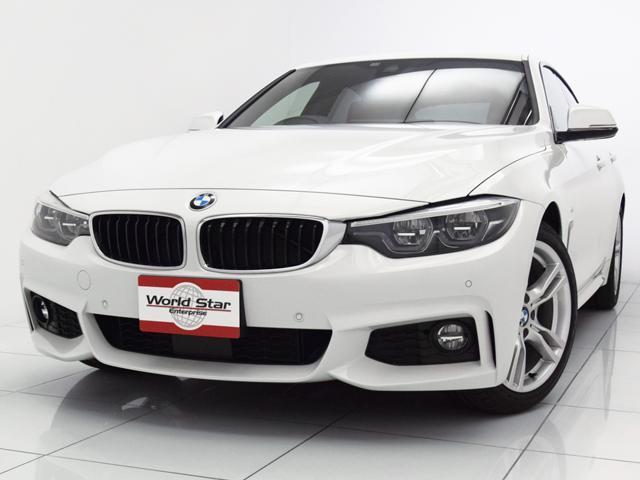 BMW 420iグランクーペ Mスポーツ LCIモデル 赤革シート