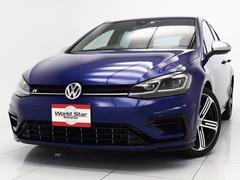 VW ゴルフRベースグレード LEDライト R専用黒革スポーツシート